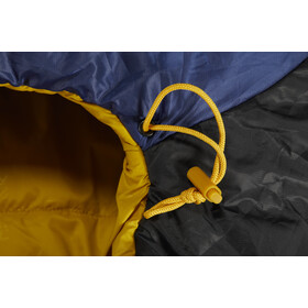 Nordisk Puk -2° Curve Sovepose L, true navy/mustard yellow/black